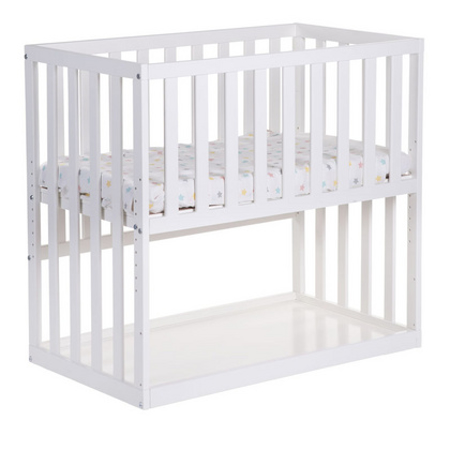 Childhome® Bedside Crib Beech White