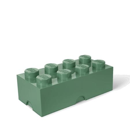 Lego® Storage Box 8 Sand Green